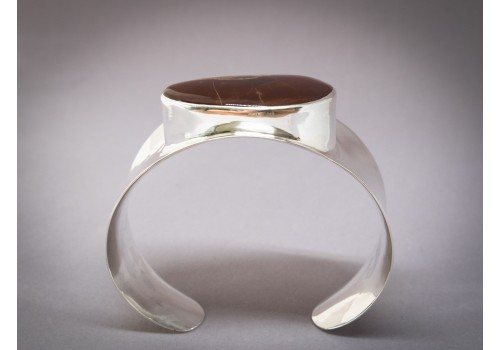 Bracelet agate et argent pour femme en exclusivité à la Galerie LoLy